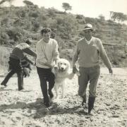 Tournage sur la plage