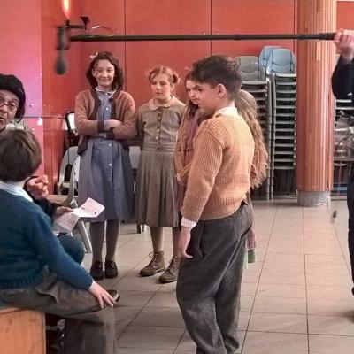 Répétitions pour les jeunes acteurs