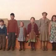 Les jeunes figurants du film