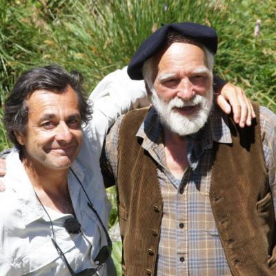 Georges Personnaz (figurant) et Nicolas Vanier