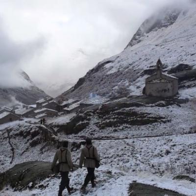 166) Les premières neiges sont tombées