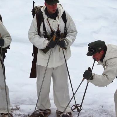 183) Les Allemands repèrent leurs traces...