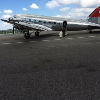 Tournage à l'aéroport de Dole Tavaux