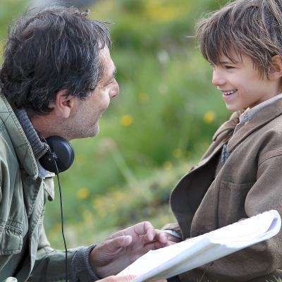 Une grande complicité entre le réalisateur et le jeune acteur