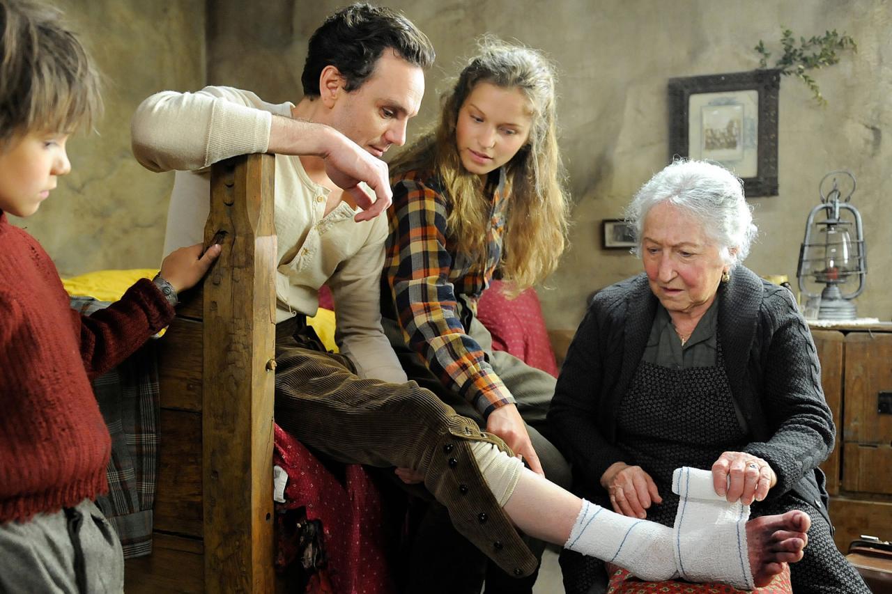 Célestine soigne le docteur