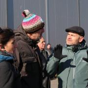 Clovis Cornillac a tourné la scène finale du film à Dole