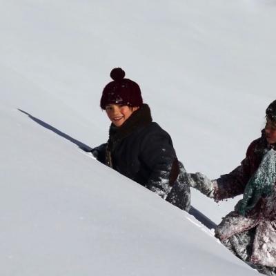 211) Sébastien montre sa montagne à Esther