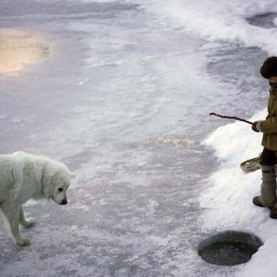 A la pêche...