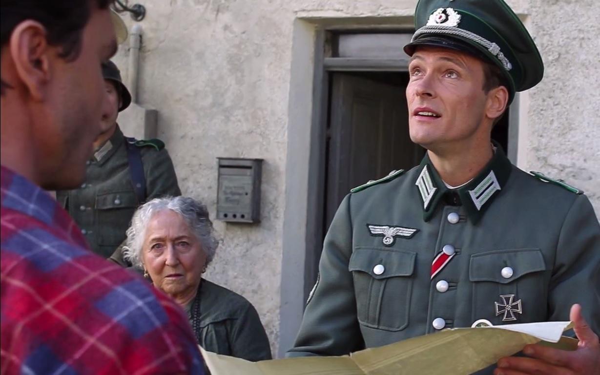 Le Lieutenant soupçonne Guillaume d'être un résistant