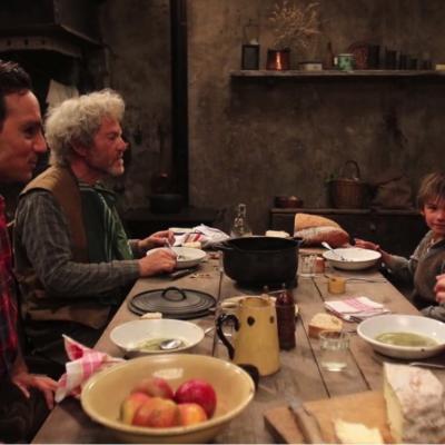 34) Sébastien raconte à Angelina et Guillaume l'histoire du cabri