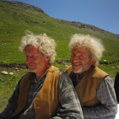 Tchéky Karyo et sa doublure  Gérad Suiffet