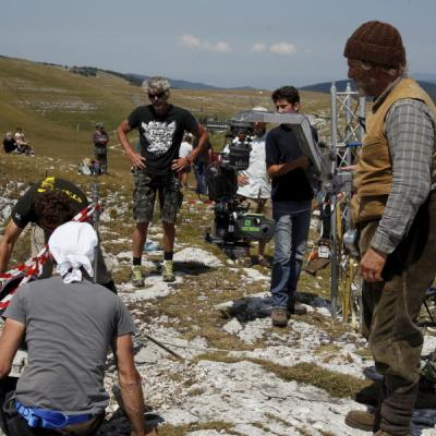Tournage Font d'Urle - Tchéky Karyo