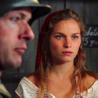 49) Angelina ne cache que moyennement son hostilité à l'Occupant