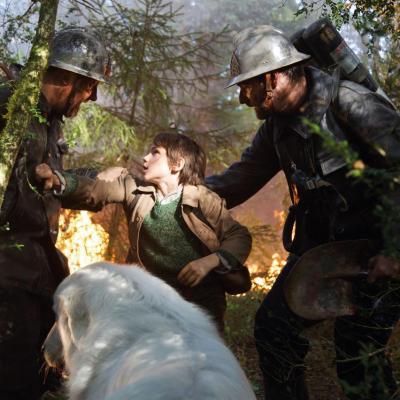 62) Les pompiers, Belle et Sébastien