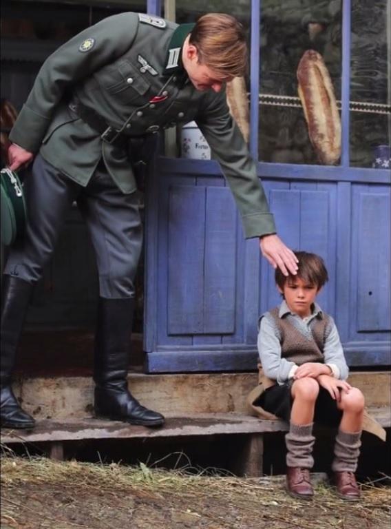 Le lieutenant Peter accompagne ses hommes chaque semaine