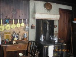 Tournage à Bessans - Intérieur Maison de chez Maille