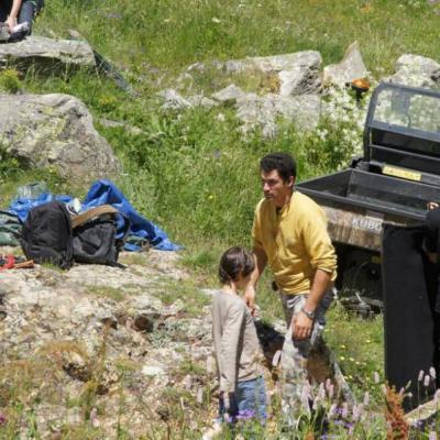 Grégory Personnaz a suivi l'intégralité du tournage ici à L'Ecot