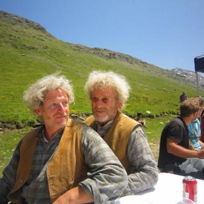 Gilbert Suiffet et Tchéky Karyo