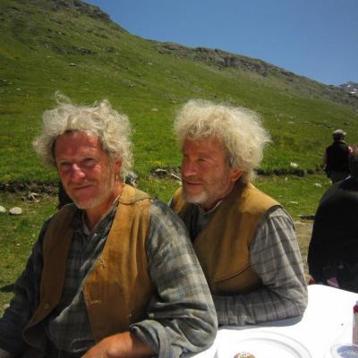 Tchéky Karyo et Gilbert Suiffet