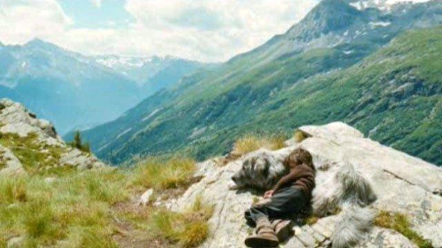 Bain de soleil en montagne