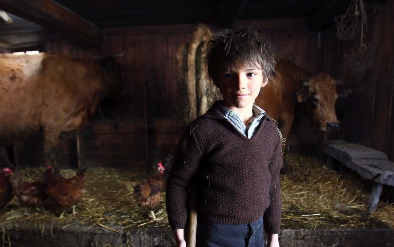 Sébastien a fini son travail à la bergerie