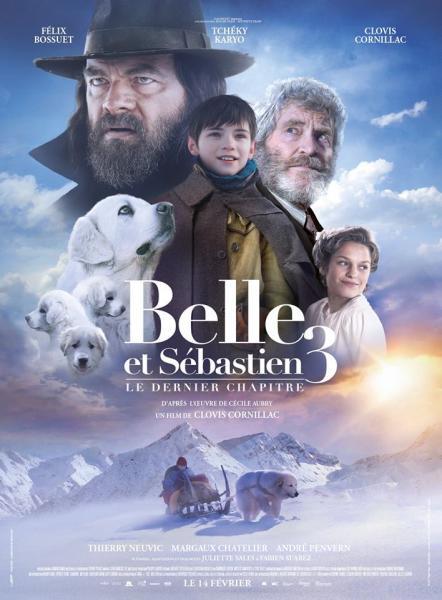 Affiche Belle et Sébastien 3