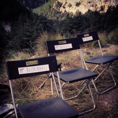 Les sièges des artistes