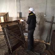 Préparation du tournage à Val des Près