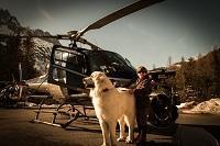 Prise de vue aérienne à Chamonix