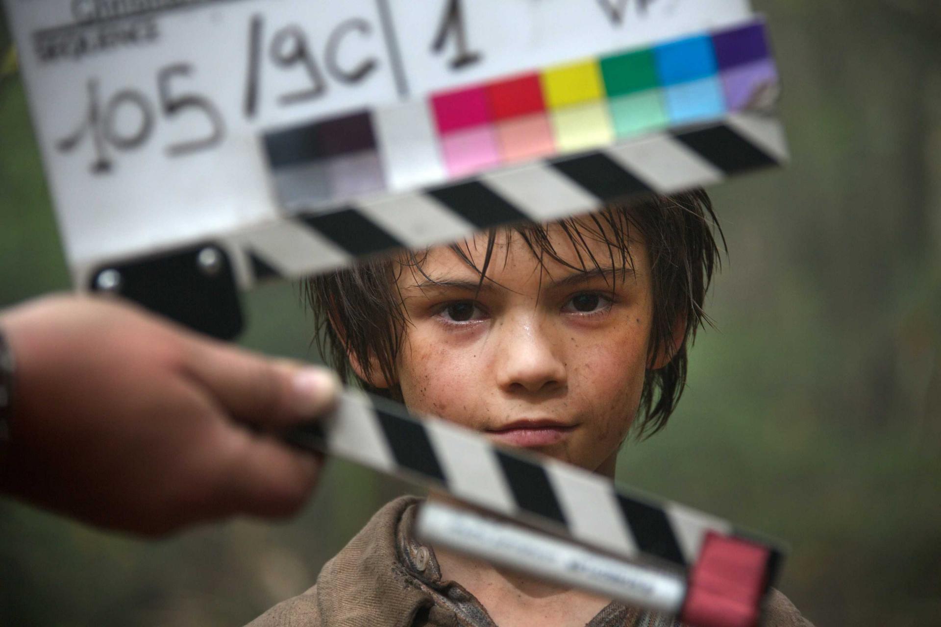 Félix Bossuet sur le tournage de B&S2