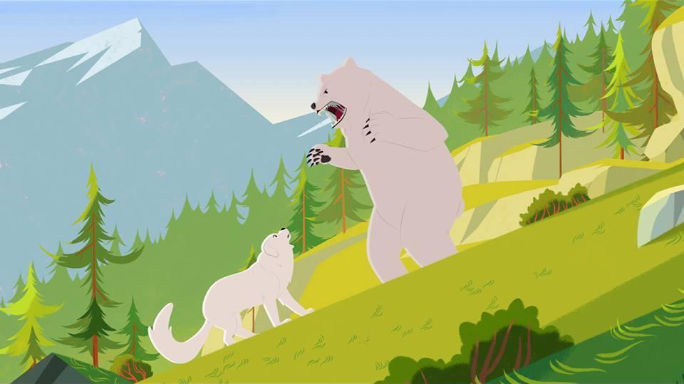 La légende de l'ours blanc  -1
