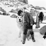Mehdi et Flanker sur le tournage le 23 mars 1964. © GettyImages
