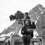 Cécile Aubry sur le tournage le 23 mars 1964. © GettyImages