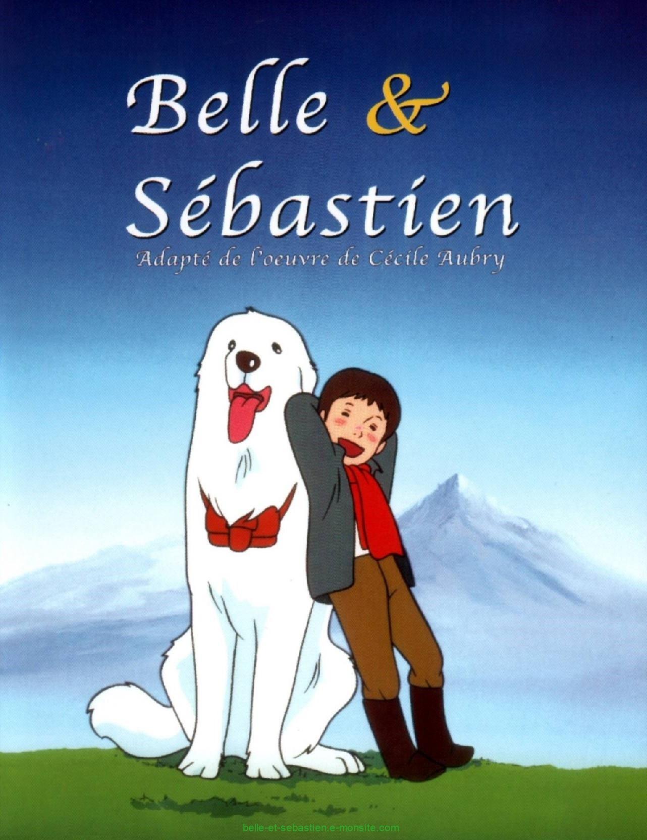 Affiche belle et sebastien 1980