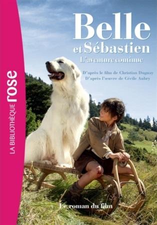 Couverture Belle et Sébastien 2 - Bibliothèque Rose