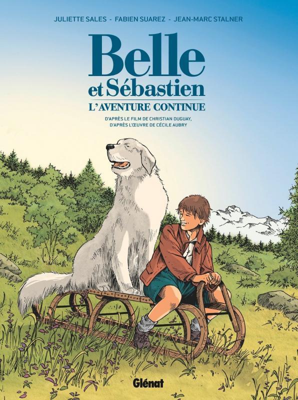 Couverture Belle et Sébastien 2 - Bande dessinée
