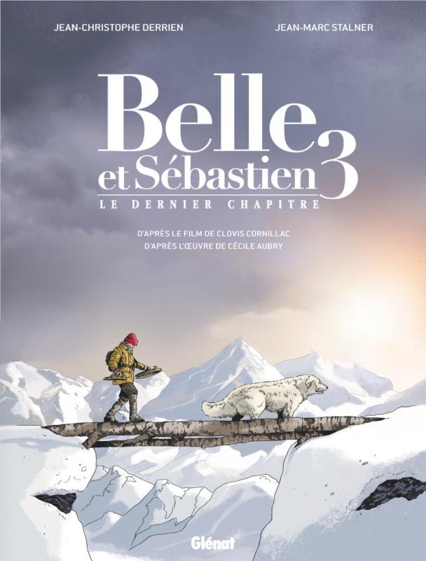 Belle et Sébastien 3 - Couverture Bande dessinée