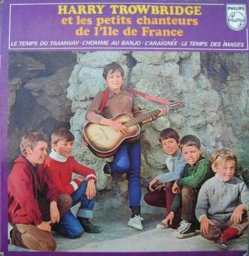 45T d'Harry Trowbridge accompagné des PCAIF