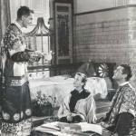 Jack Hawkins, Cécile Aubry et Tyrone Power dans La rose noire