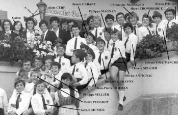 Les PCAIF en 1969 © Image TS1970 - Forum Fans des Poppys
