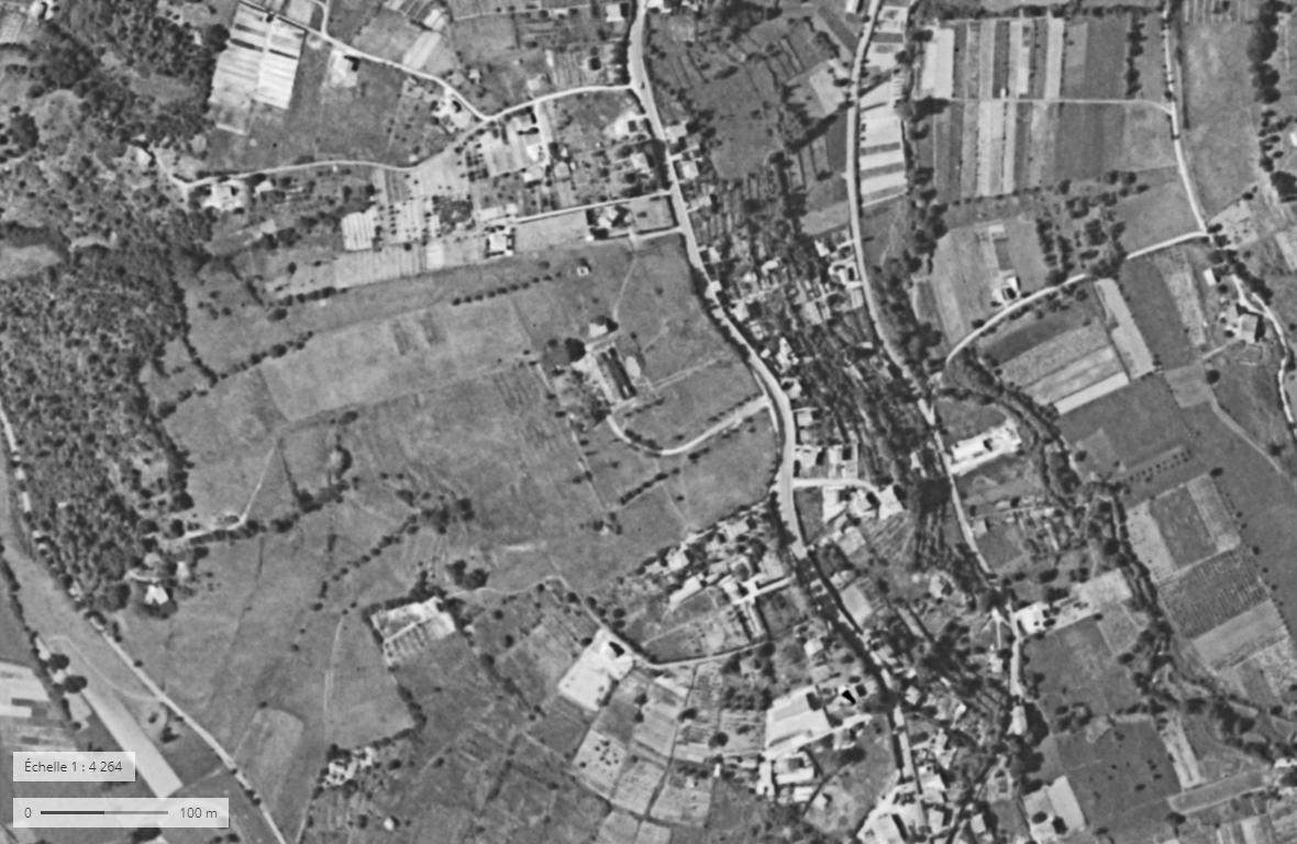Photographie aerienne 1960 1965 geoportail