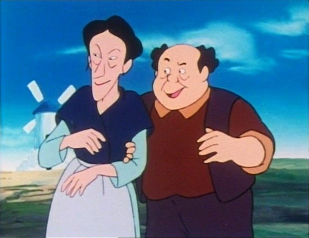 Poncho et Maria-Bénedicte