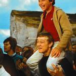 Sébastien et Bernard assistent au retour du Narval