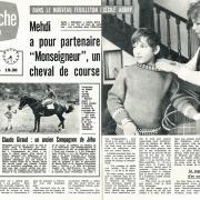 Mehdi a pour partenaire Monseigneur : un cheval de course