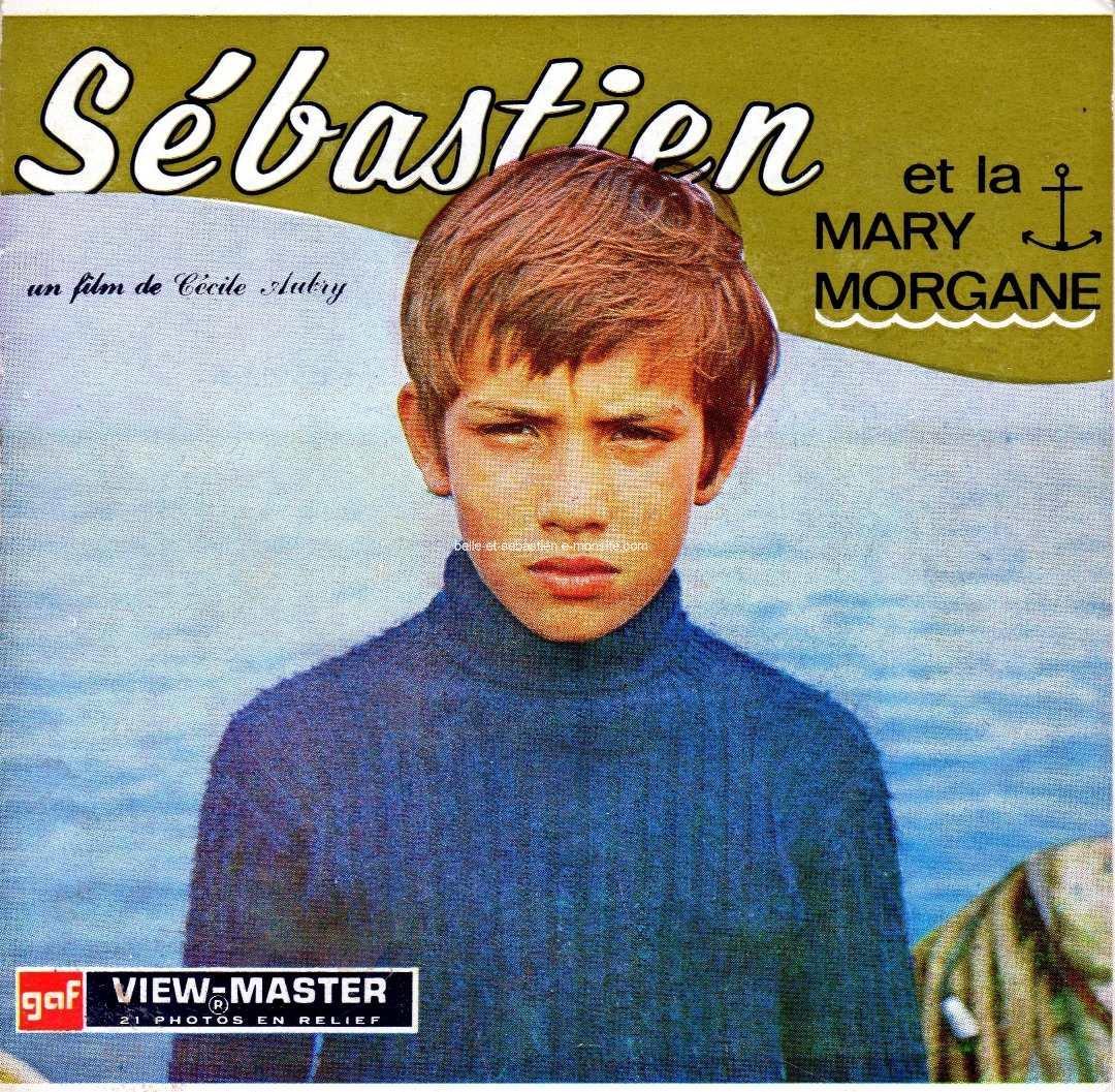 View master Sébastien et la Mary-Morgane - Couverture